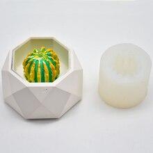 Новая 3D форма кактуса, силиконовая форма, гипсовая форма для парфюма, воск для ароматерапии, форма для мыла, свеча, форма для шоколада, украшения торта, принадлежности