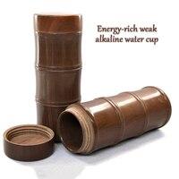 ENERGE 봄 자연 Muyu 돌 컵 단일 레이어 차 컵 건강 에너지 물 컵 에너지 약한 알칼리 컵 비즈니스 선물 컵