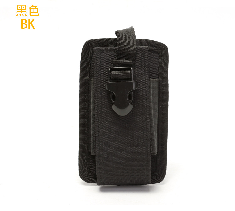 Hunting Nylon Molle Radio Walkie Talkie Holder Bag Magazine Mag Pouch Holster