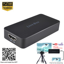 EZCAP 270 scheda di acquisizione Video 1080P videoregistratore di giochi per PS3 PS4 TV BOX twprurito OBS Youtube Streaming Live per telefono cellulare