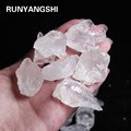 АААА + 50 г натуральный минеральный белый кварц кристалл камень рок чипы с лечебным действием, образцы коллекции натуральный кристалл аквари...