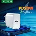 Быстрое зарядное устройство 3,0 QC PD 20 Вт 18 Вт QC3.0 USB Type C, быстрое зарядное устройство для iPhone 11 12 8 X Xiaomi Samsung Huawei, зарядное устройство PD для телефо...