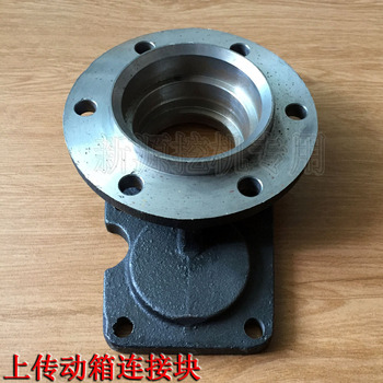 New source wheeled excavator XY65 75 transmission box transfer box connection block two-axis rear cover original