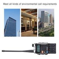 vhf uhf צריכת חשמל גבוהה FM Baofeng BF-Uvb2 Uvb2 פלוס עבור CB רדיו במכונית 8W ווקי טוקי החדש משדר VHF הלהקה כפול UHF רדיו ניידים (3)