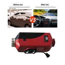 12 В 8 кВт подогреватель воздуха, дизель-обогреватель, парковочный нагреватель, воздушный Нагреватель, автомобильный Грузовик, лодка, Универсальный воздушный Нагреватель, красный, черный