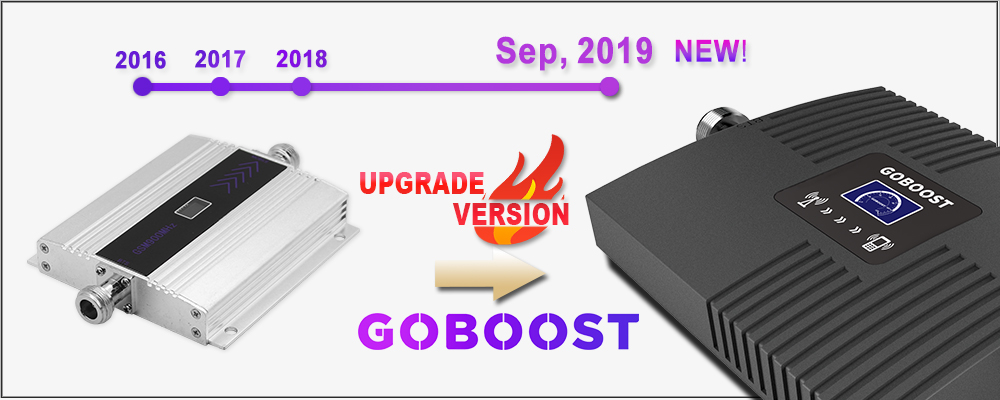 Cellular signal booser gsm 2g 3g 4g repeater