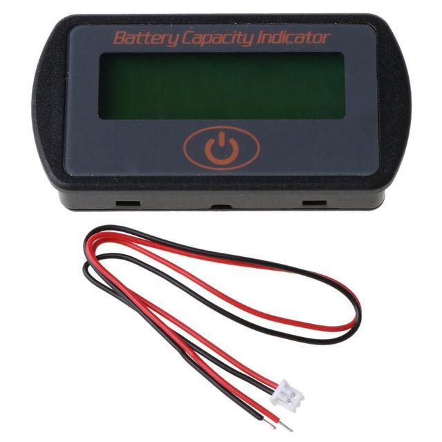 12 в 24 в жк дисплей ёмкость аккумулятора вольтметр тестер индикатор фотография