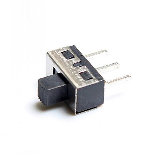 SPDT Slide Switch 3A/250V -  (Pack Of 10)