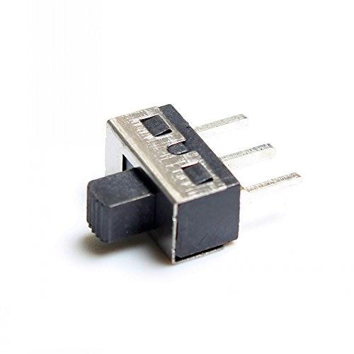 SPDT Slide Switch 3A/250V -  (Pack Of 10)