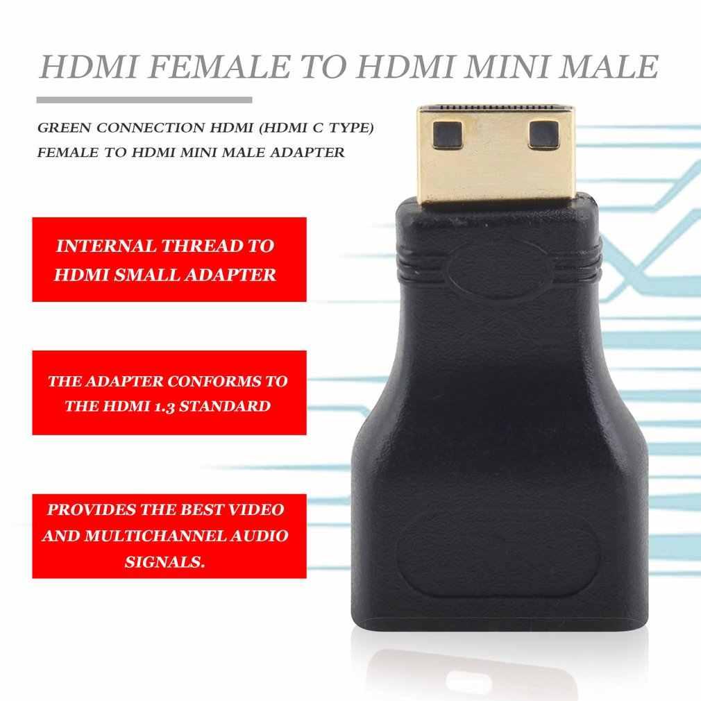 2017 الساخن 1 قطعة HDMI إلى ميني HDMI تحويل محول مصغرة محول HDMI HDMI V1.4 إيثرنت 1080P 3D والأزرق راي ، شحن مجاني