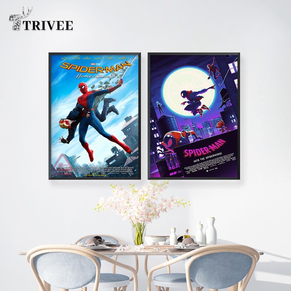 Spider-Man Home Decor Gift Poster Wall Art Print