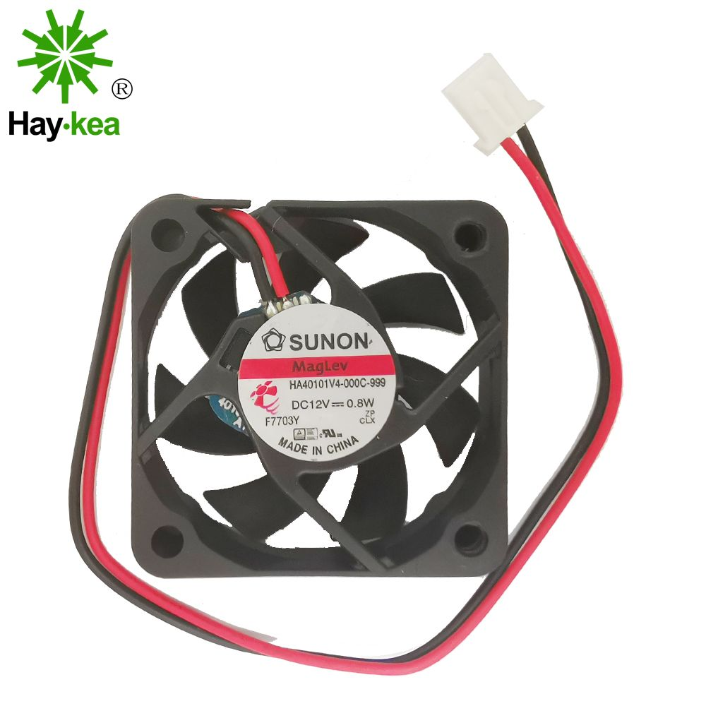 For SUNON HA40101V4-000C-999 COOLING REVOLUTION 4cm <font><b>40mm</b></font> <font><b>fan</b></font> 40x40x10mm DC12V 0.8W South-North Bridge Ultra-<font><b>quiet</b></font> cooling <font><b>fan</b></font> image