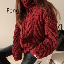 Women's Sweater Turtleneck 2019 New Autumn Winter Sweater Women Long Sleeve Pullover Women Basic Sweaters Women Knit Tops Femme цена и фото