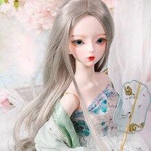 DBS 1/3 BJD 62cm DF muñeca personalizada cuerpo articulado maquillaje pintado a mano, cabeza puede abrir Hada de los sueños AI MSD SD Kit juguete para regalo Niña
