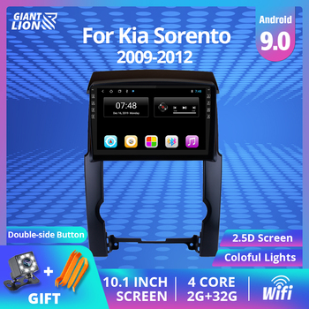 2DIN Android 9.0 2G+32G Car Radio For Kia Sorento 2009 2010-2012 Car Multimedia Video Player Navigation Autoradio DVD Player image
