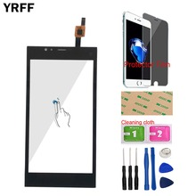Mobile Touch Screen Touchscreen For Highscreen Pure Power Touch Screen Panel Digitizer Sensor Glass Tools Protector Film