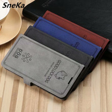Huawei Honor 8C Case Wallet Cover 3D Embossing Cloth Grid Flip Leather Stand Case For Coque Honor 8C 8 C 6.26 Cover Retro Capa huawei honor 8c business case pu leahter cover for huawei honor8c wallet flip case anti knock phone cover