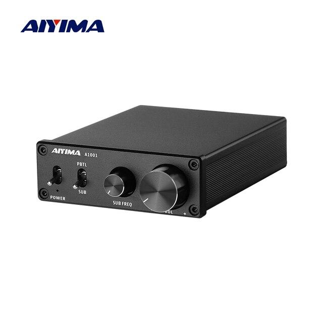 مضخم صوت AIYIMA 100W TPA3116D2, مكبرات صوت رقمية أحادية من الفئة D ، مضخم صوت منزلي ، تردد كامل