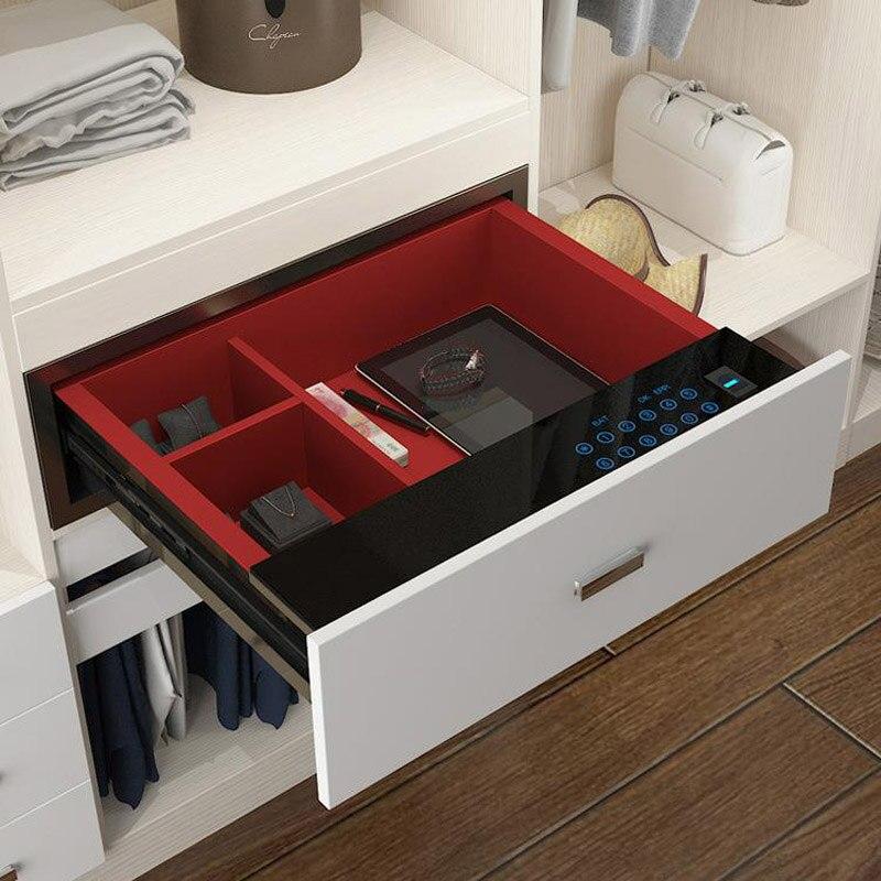 Seguridad del cajón de seguridad bloqueo de contraseña Digital Home Office Hotel sistema de alarma Dual cubierta de seguridad llave antirrobo seguridad DHZ0043 - 3