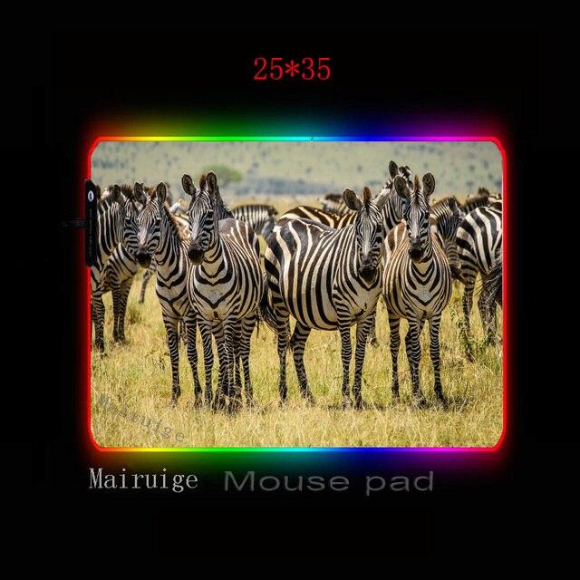 Фото mairuige большой компьютерный коврик с изображением животных