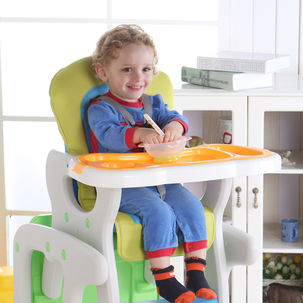 Children's Dining Chair Multi-functional Plastic Child Portable Stool Baby Can Detachable