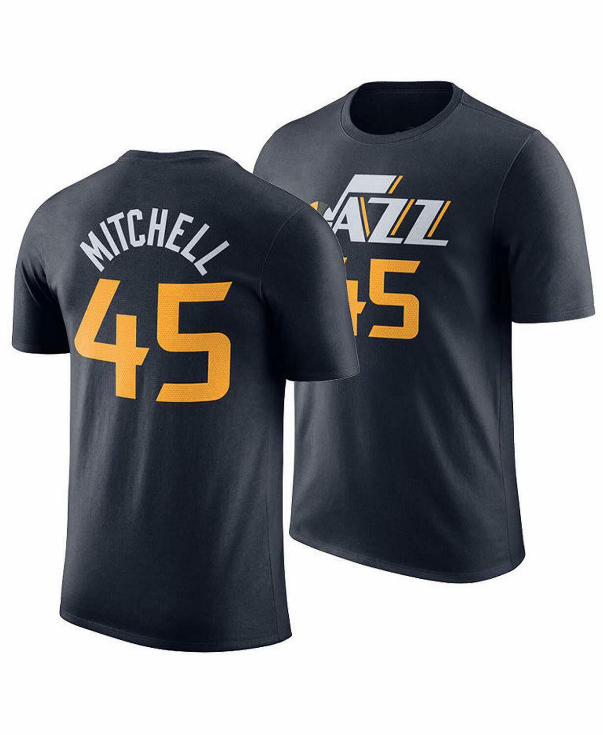 DONOVAN MITCHELL NAME NUMBER T-SHIRT