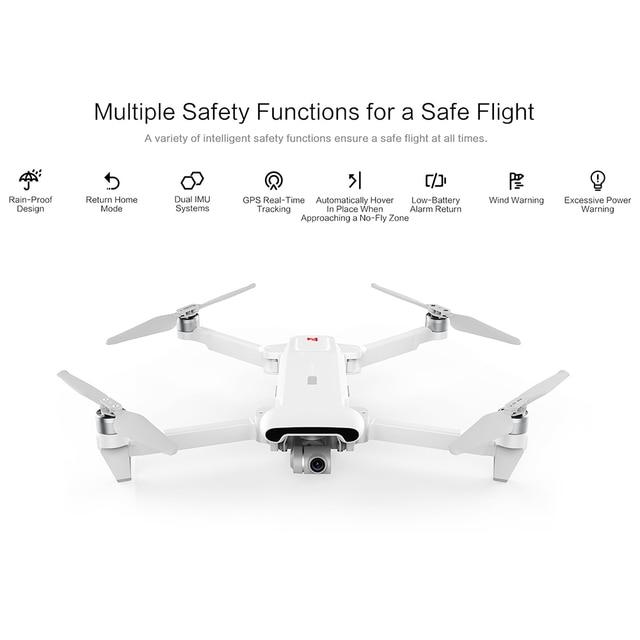 FIMI X8SE 2020 8KM FPV 3-Axis Gimbal 4K Camera RC Drone HDR Video GPS 35mins Flight Quadcopter Charging Battery RTF 2