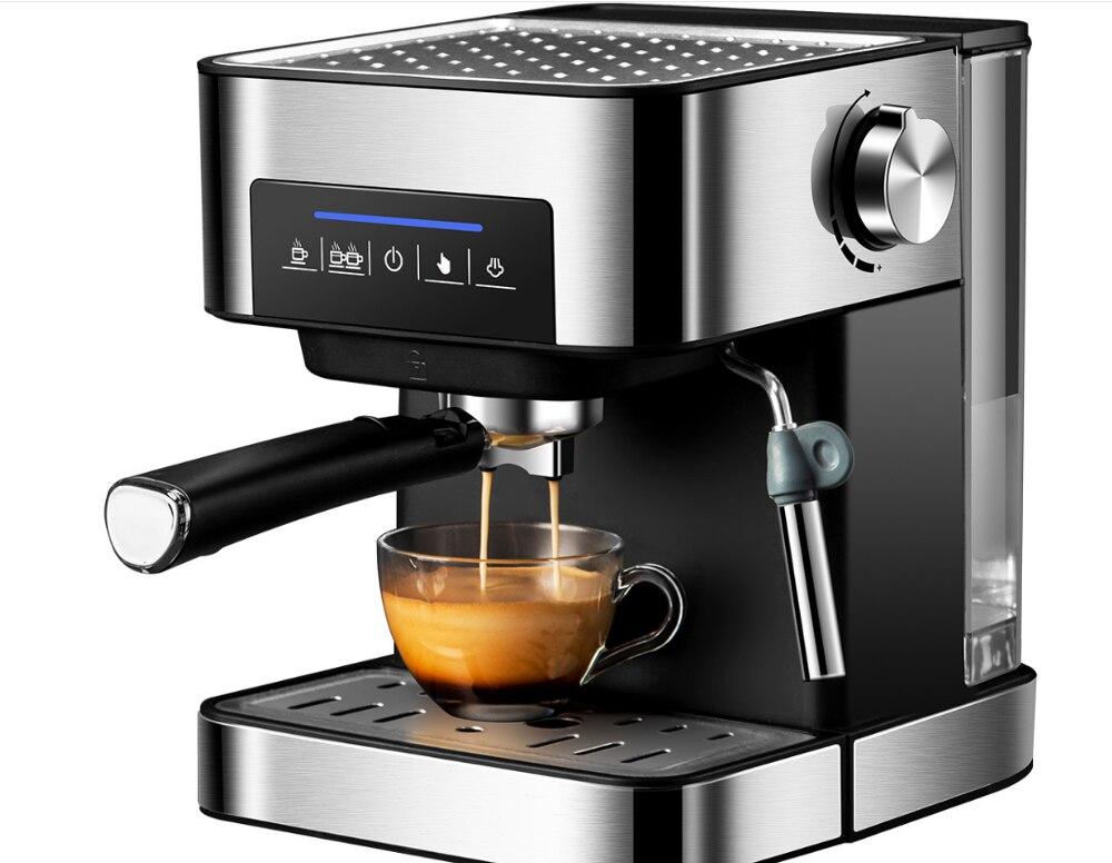 Italian Coffee Machine 20Bar Pump Espresso Machine Semi-automatic Espresso Coffee Maker Home Coffe Maker Commercial Milk Frothe