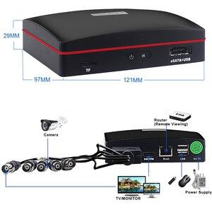 Image 5 - Smar 4CH 1080N 5 ב 1 AHD DVR ערכת טלוויזיה במעגל סגור מערכת 2PCS 720P/1080P IR AHD מצלמה חיצוני עמיד למים יום ולילה אבטחת מצלמה קיט
