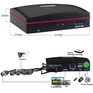 Image 5 - Smar 4CH 1080N 5 في 1 AHD DVR عدة نظام الدائرة التلفزيونية المغلقة 2 قطعة 720P/1080P IR كاميرا AHD في الهواء الطلق مقاوم للماء يوم وليلة الأمن كاميرا عدة
