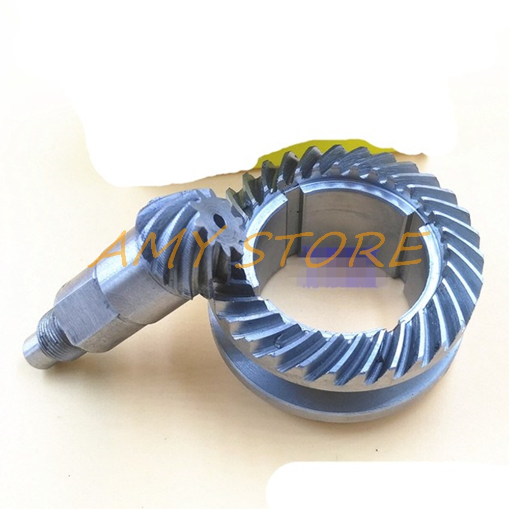 Impact Drill Repair Part 47.8mm Helical Teeth Spiral Bevel Gear Set For Bosch 26 Electric Drill
