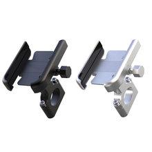 Universal motor da bicicleta da motocicleta telefone celular titular do telefone 360 graus cnc rotação suporte para iphone huawei
