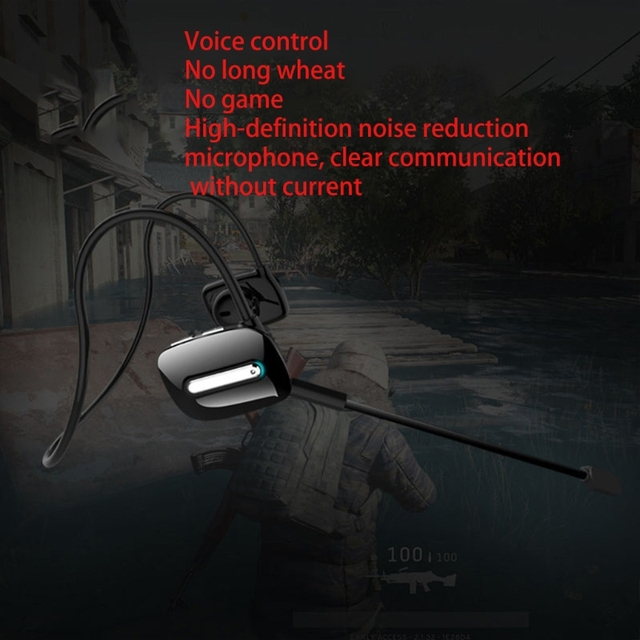 ALLOET Good Experience Wireless Headphones Bluetooth Earphone Neckband Earbuds Game Headset with Microphone for PUBG Gam 2