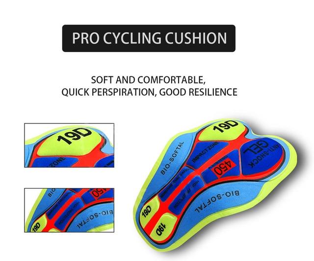 2020 preto rock ciclismo jérsei 9d almofada shorts bicicleta wear conjunto ropa ciclismo secagem rápida dos homens pro maillot culotte 5
