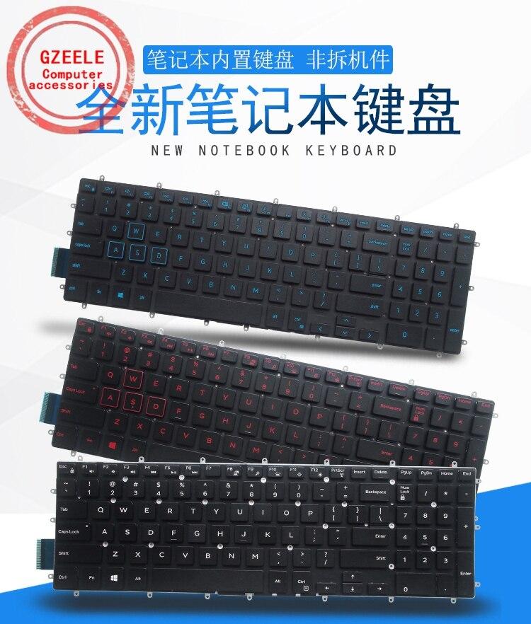 Nuevo teclado del ordenador portátil para DELL Inspiron15-7000 7566, 7567, 7568, 7577, 5567, 7587, 7570, 7580 de fondo