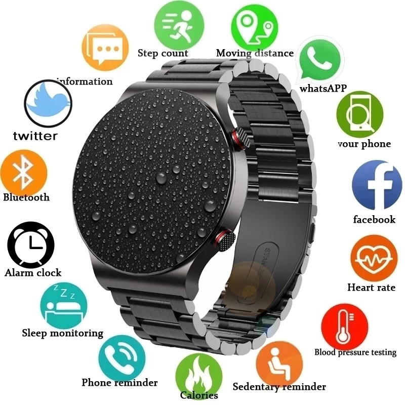 Permalink to IP68 smart watch male waterproof full touch screen sports fitness customization face enhancement suitable for Android