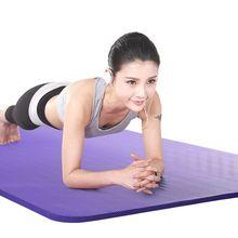 183*61*1cm Yoga Mat Gym Exercise Pad Non-slip Thicken Outdoo