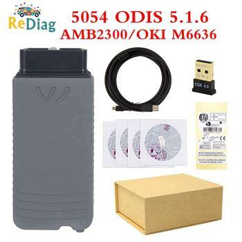 Best Quality 5054A ODIS 5.16 OKI 5054 Original Bluetooth 5054A Perfect Version OKI Chip for VAG Diagnostic Scanner