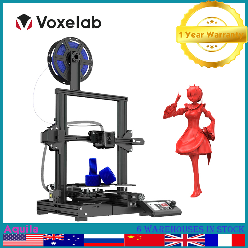Voxelab Aquila 3D Printer Kit High Precision FDM DIY 3D Drucker Upgrade Large Platform Resume Power Failure Impressora 3d