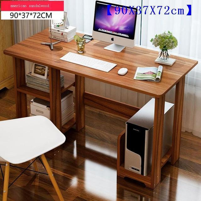 Business Office Furniture File Shelf Laptop Desk Portable Mesa Computer Table