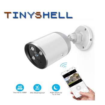 IP Camera 1080P Waterproof Outdoor Bullet Camera Security Surveillance Camera Wireless Network WiFi CCTV Camera baskin robbins мороженое волшебные леденцы 1 л