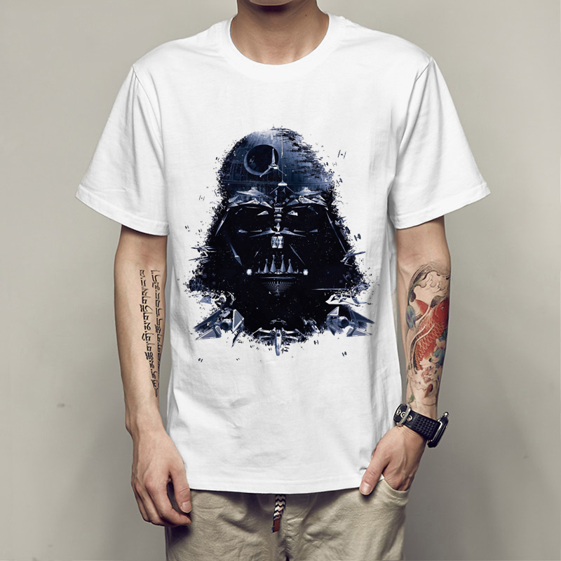 Star War T-Shirts Printed Armorlock T Shirt Men Funny Novel Men 'S Top Tees Harajuku Style T Shirt Darth Vader Camiseta Gift Men image