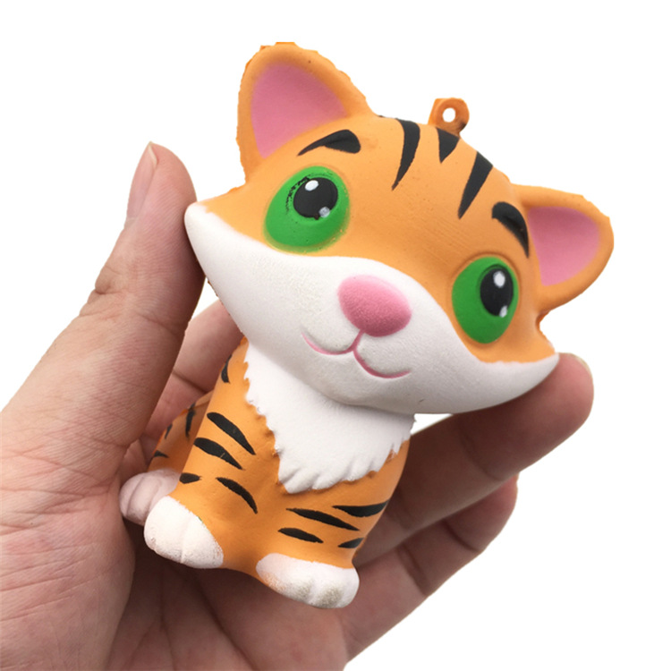 SquishMeez High Quality Soft Doll Slow Rising Cute Tiger Stress Fidget Squishy Toys