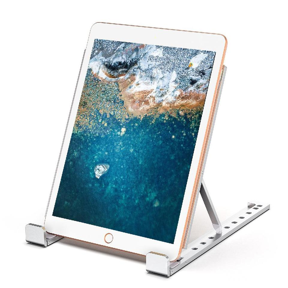 Beesclover Aluminum Alloy Laptop Stand Adjustable Foldable Bracket Cooling Holder Stand For Laptop Notebook Macbook Lifting D40 Laptop Stand Aliexpress