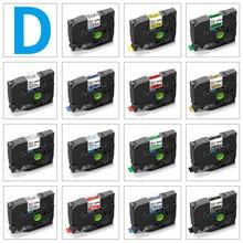 Topcolor 6mm 9mm 12mm compatível d1 fita dymo etiqueta fita 45013 45010 40913 43610 para dymo gerente de etiquetas lm160 280 fabricante de etiquetas