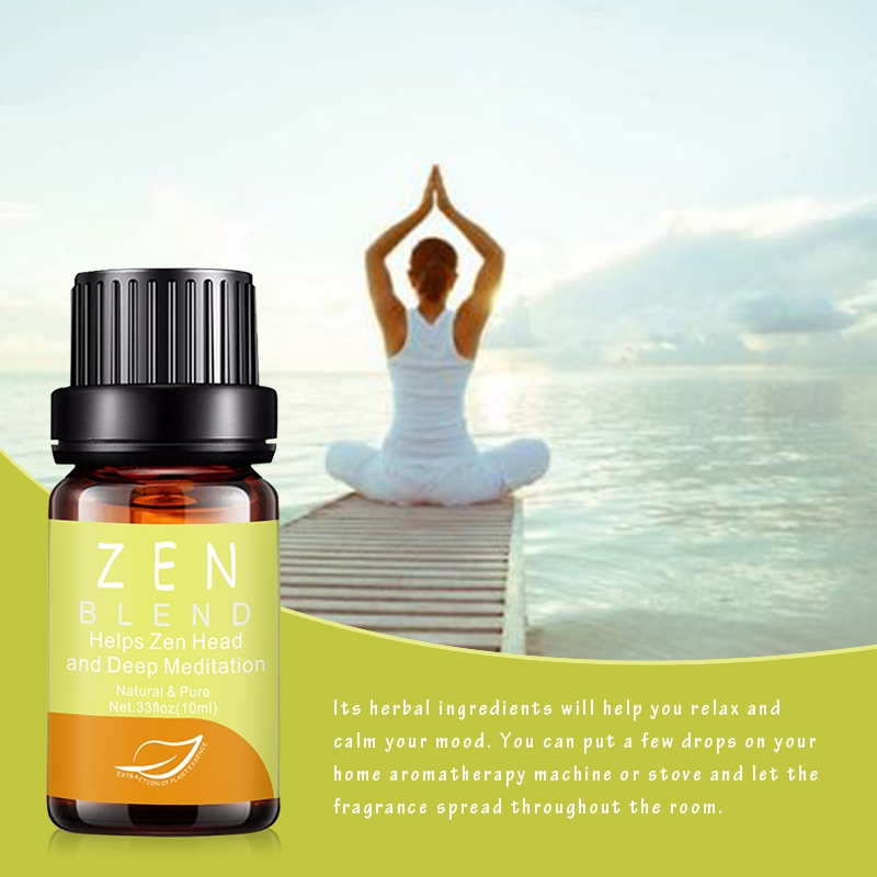10ML Natural & Pure Essential Oils Aromatherapy Massage Soothe Emotion Aroma Diffuser Oil Use For Bath Spa Massage Good Use