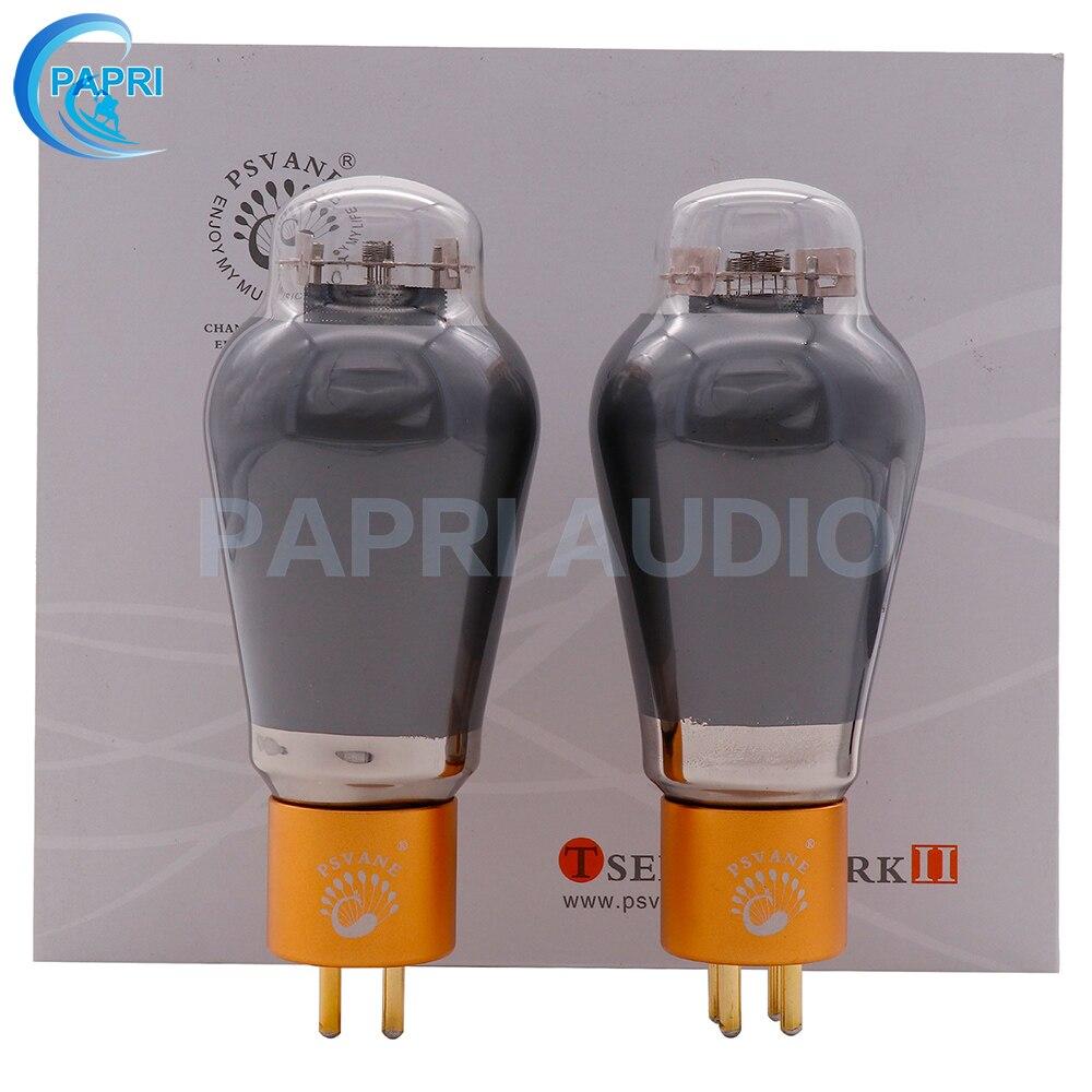 PAPRI PSVANE 300B-TII Tube à vide 300B Tube de Valve pour Hifi amplificateur Audio Vintage bricolage Test d'usine et Match 1 paire