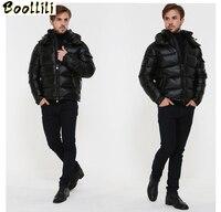 Boollili Men's Down Jacket Winter Coat Men Clothes 2020 Short Puffer Jacket Warm Doan Coat Men's Jackets Doudoune Homme