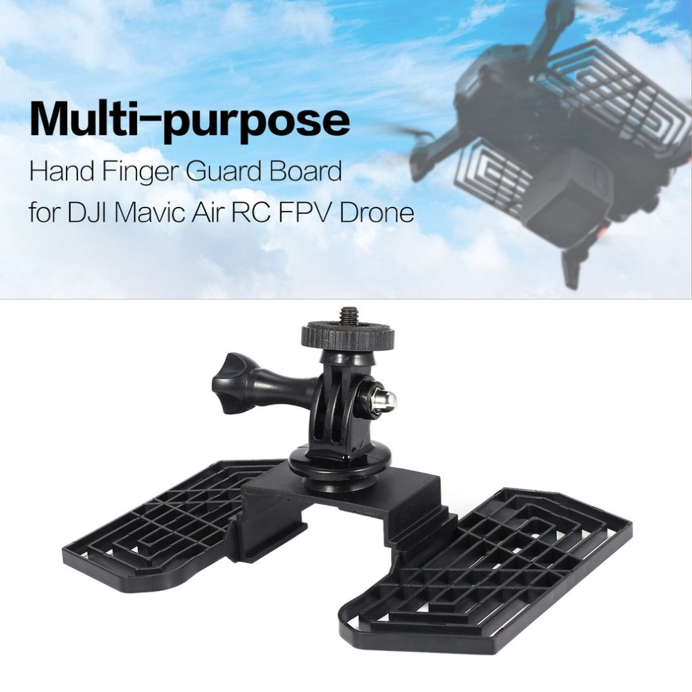 Multi purpose Hand Finger Guard Protector Board Defender Dam plate Protection Fence Guardrail Kit for DJI Mavic Air RC Drone in Drone Accessories Kits from Consumer Electronics