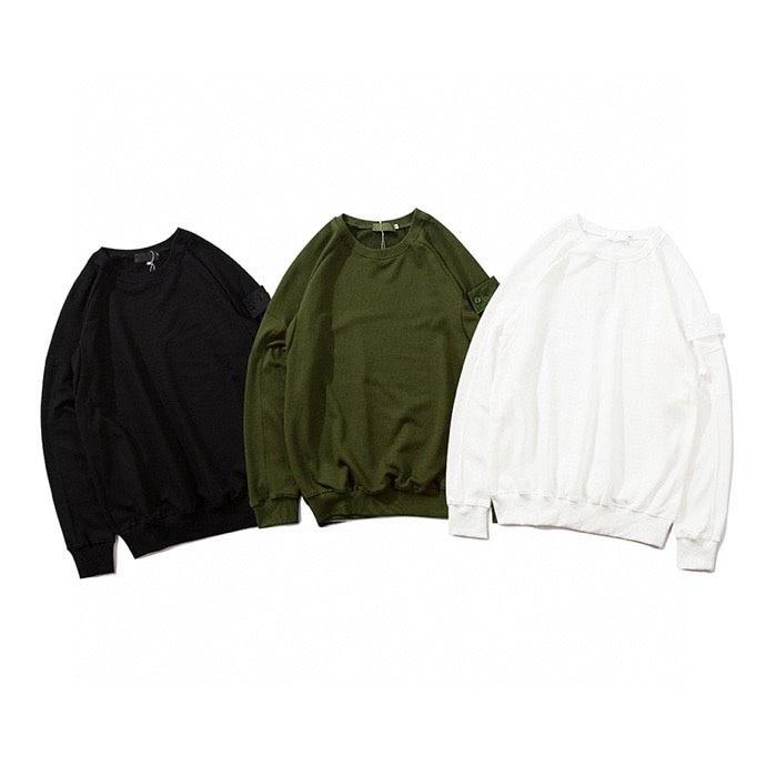 Best Quality Compass Patched Sweatshirt Men Women Hooded Sweatshirts Badge Embroidery Hiphop Men Cotton Hoodie Pullovers Men